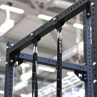 BRACKETS RINGS/CLIMBING ROPE