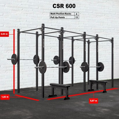 CROSS STATION + RACK 600