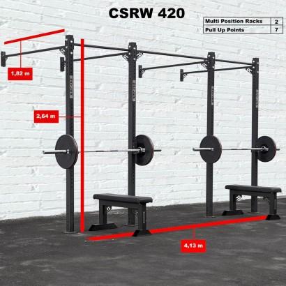CROSS STATION + RACK 420 WALLMOUNTED