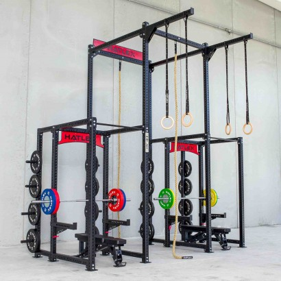 POWER RACK HD3 - TITANO