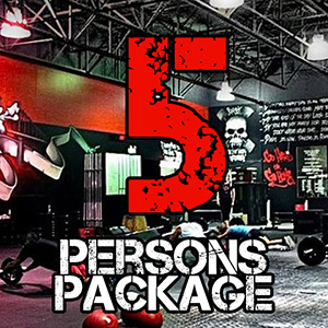 5 Persons Package