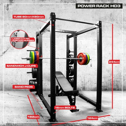 POWER RACK HD3