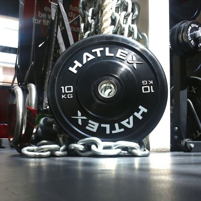 Training Black Bumper 10kg