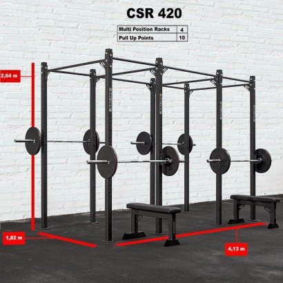 CROSS STATION + RACK 420