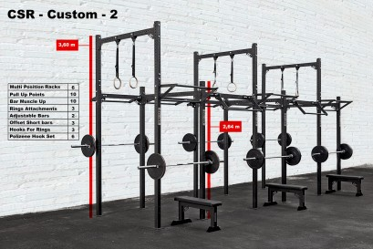 CROSS STATION + RACK - CUSTOM 2