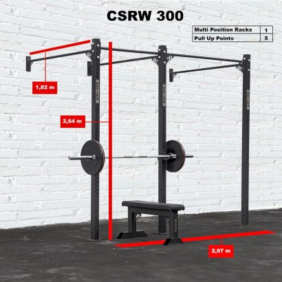 CROSS STATION + RACK 300 WALLMOUNTED