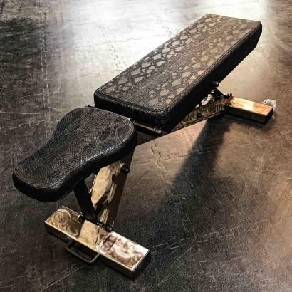 ADJUSTABLE BENCH PYTHON BLACK LIMITED EDITION